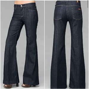 7 for all mankind Ginger trouser dark wash jeans